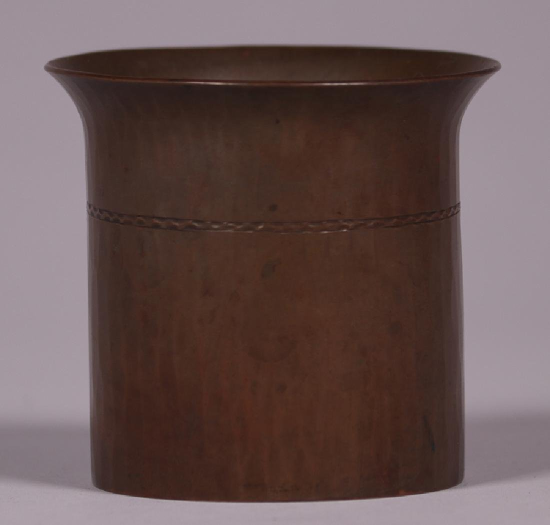 Roycroft Small Flared Trifoil Vase - 2
