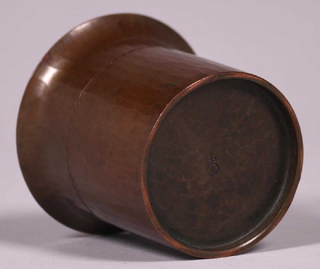 Roycroft Small Flared Trifoil Vase - 3