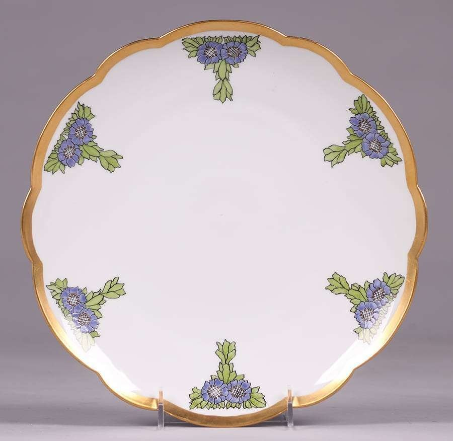 Lucille Newton Hand Decorated Porcelain Plate 1918