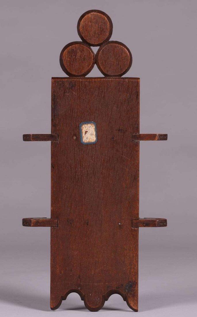 European Arts & Crafts Gothic Pipe Rack c1900 - 2