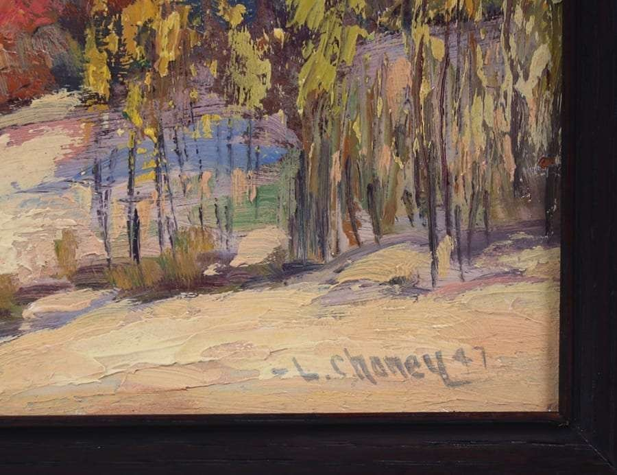 Lester Joseph Chaney Painting of California Sand Dunes - 3
