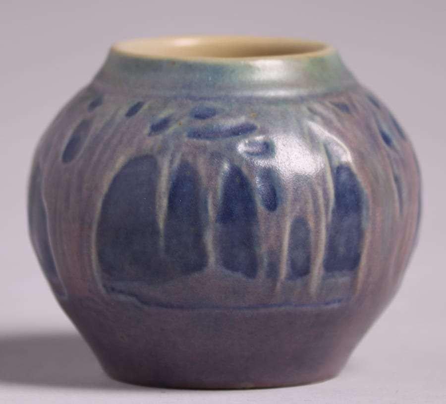 Newcomb College Miniature Scenic Vase Sadie Irvine - 2