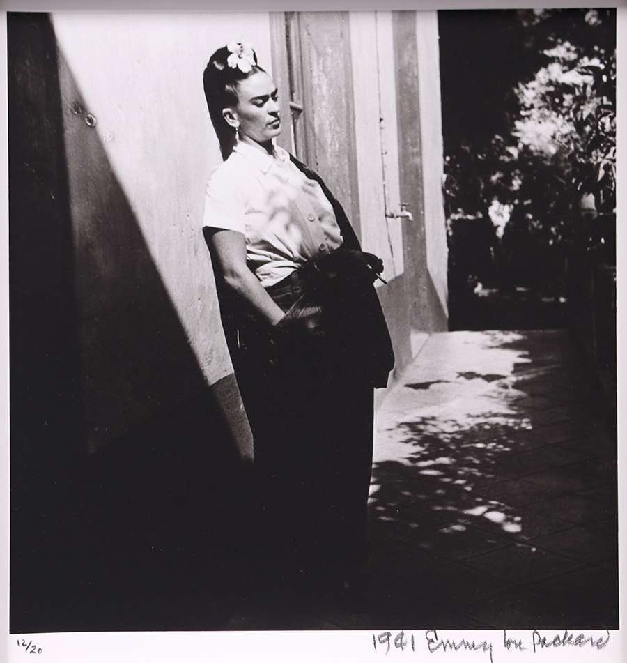 Frida Kahlo Photo by Emmy Lou Packard 1941