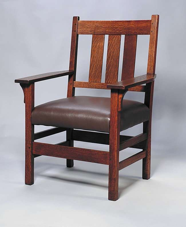 Gustav Stickley Armchair #366