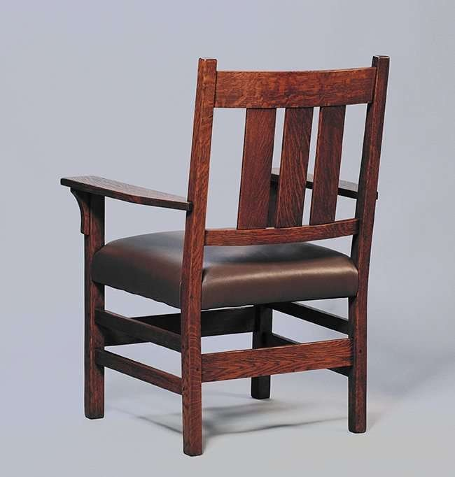 Gustav Stickley Armchair #366 - 2
