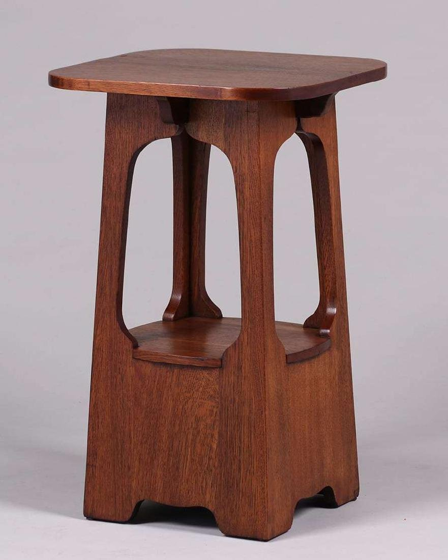 "Brooks Furniture Co ""Pagoda"" Table c1910"