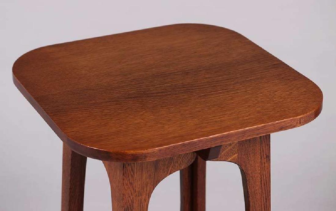 "Brooks Furniture Co ""Pagoda"" Table c1910 - 3"