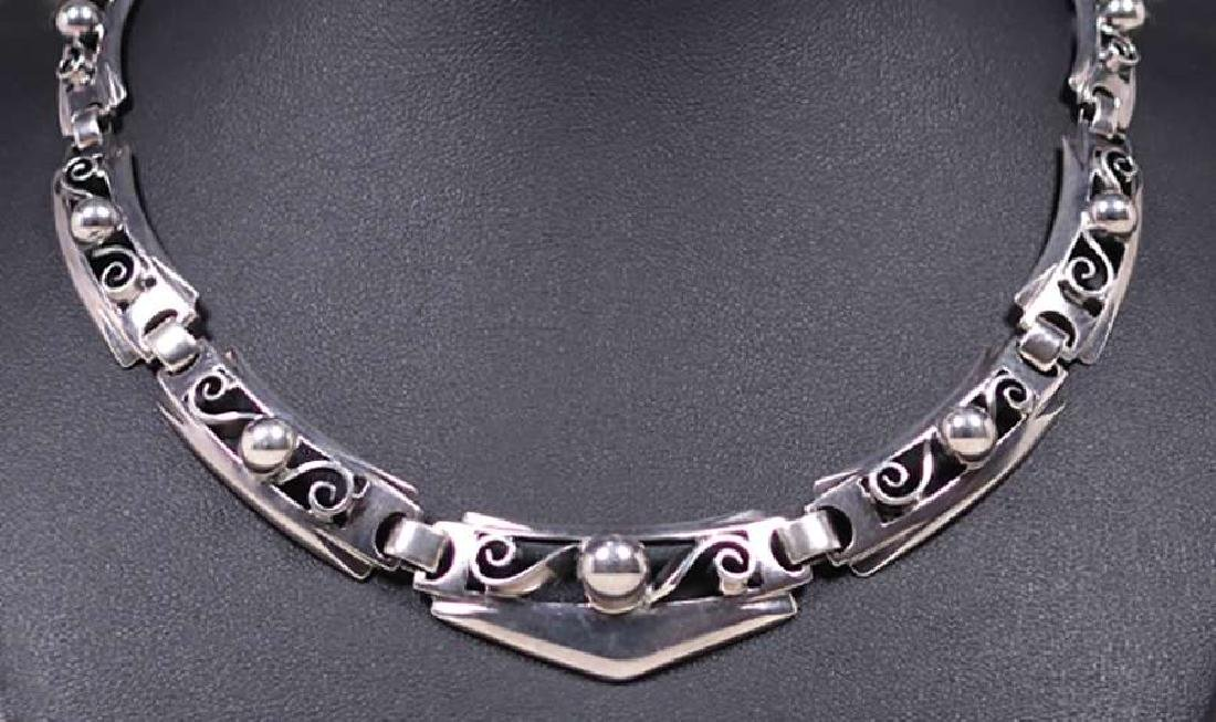 Kalo - Chicago Sterling Silver Cutout Necklace