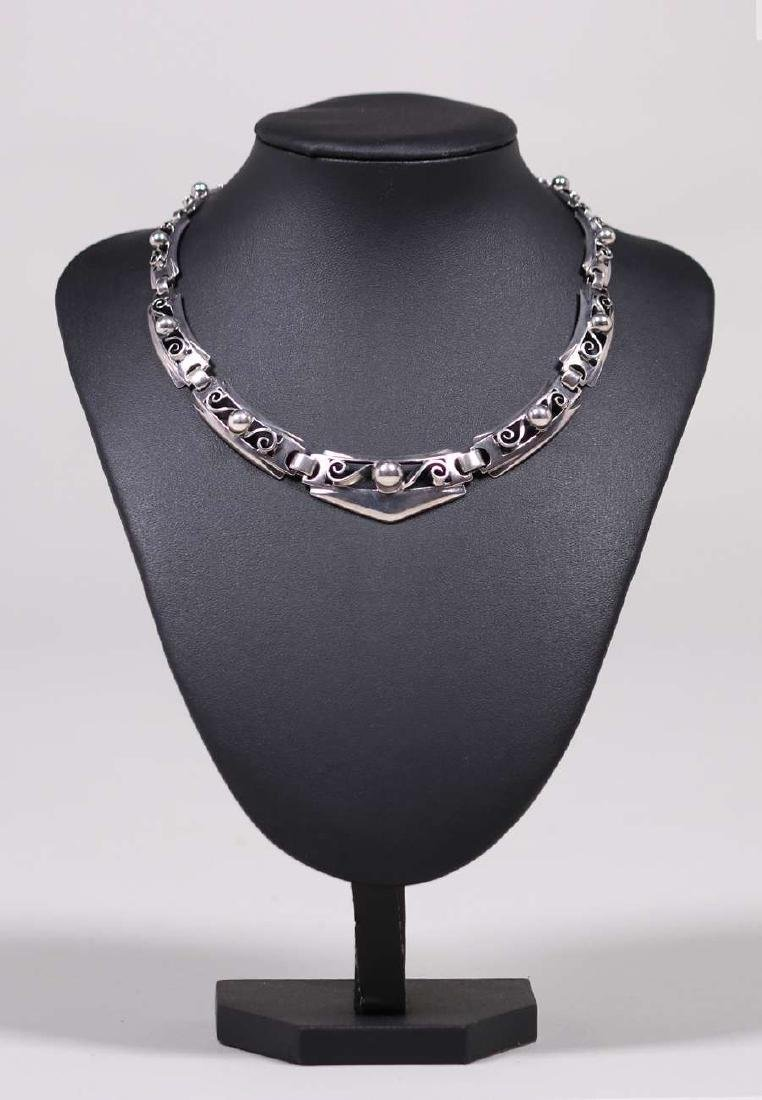 Kalo - Chicago Sterling Silver Cutout Necklace - 2