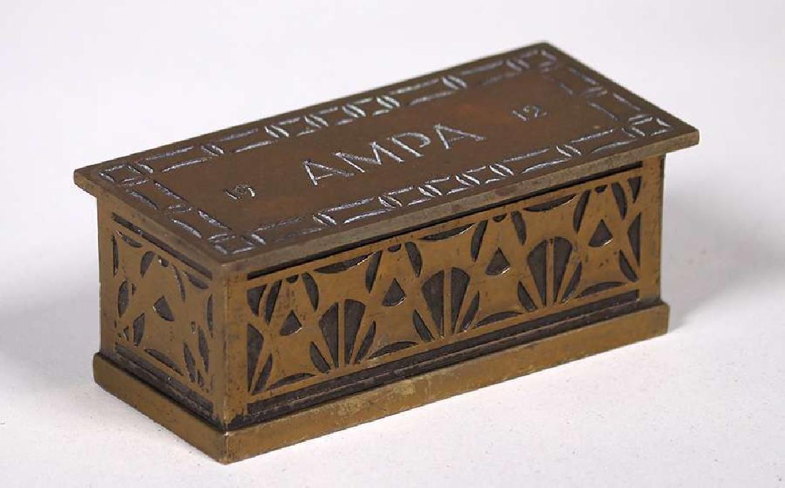 Robert Jarvie - George Elmslie Designed Stamp Box 1912