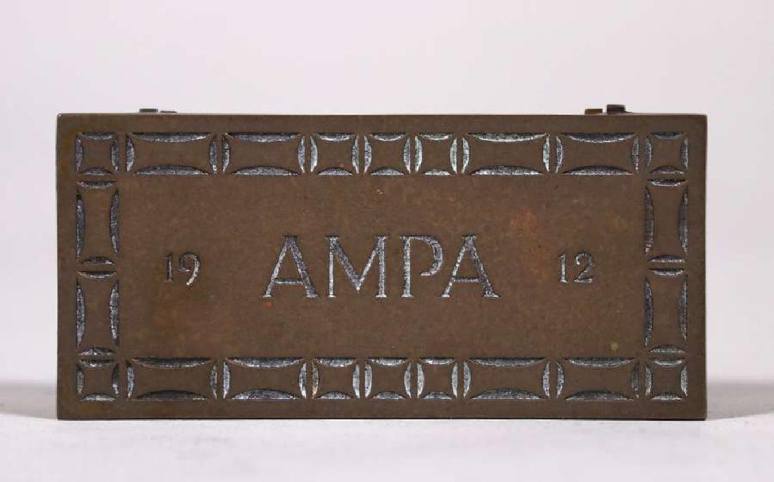Robert Jarvie - George Elmslie Designed Stamp Box 1912 - 2