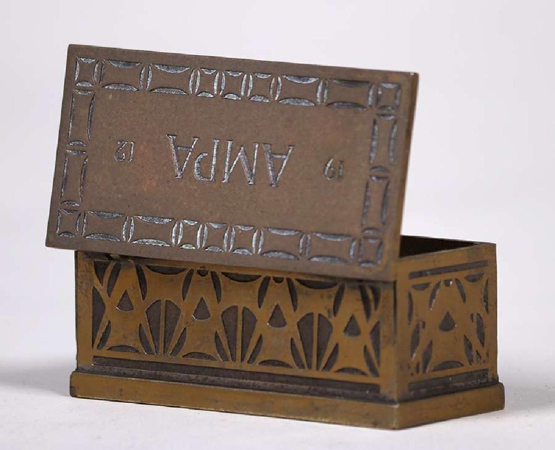Robert Jarvie - George Elmslie Designed Stamp Box 1912 - 3