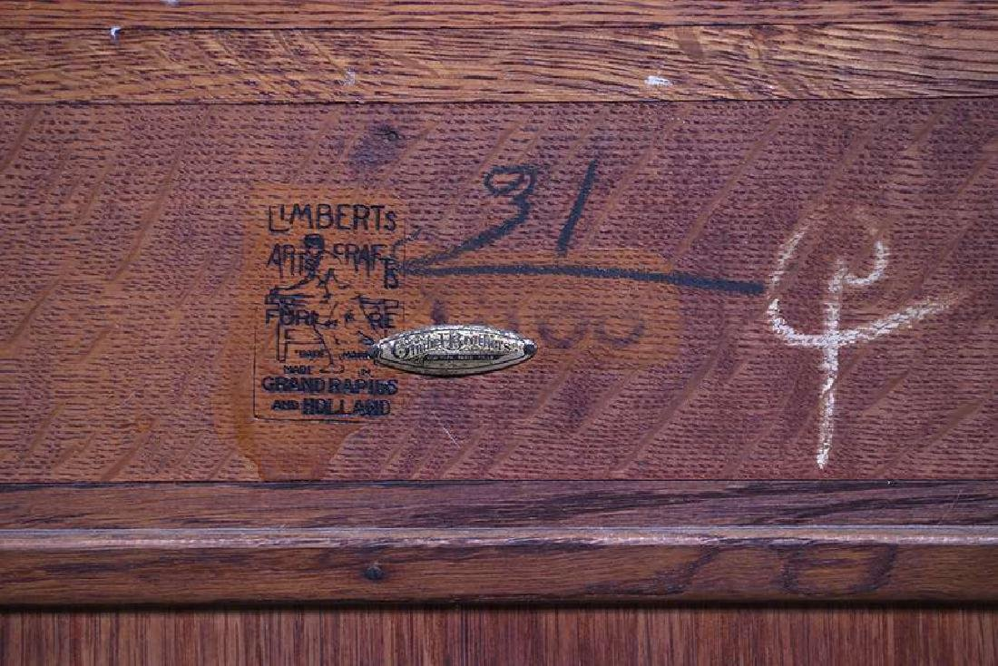 Limbert Two-Door China Cabinet c1910 - 2