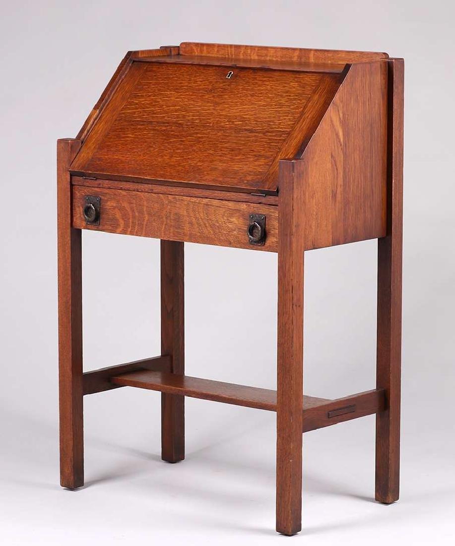 Drop Front Desk >> Lifetime Furniture Co Small Drop Front Desk C1910