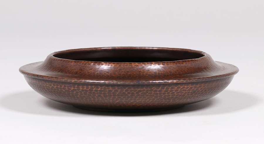 Roycroft Hammered Copper Fruit Bowl