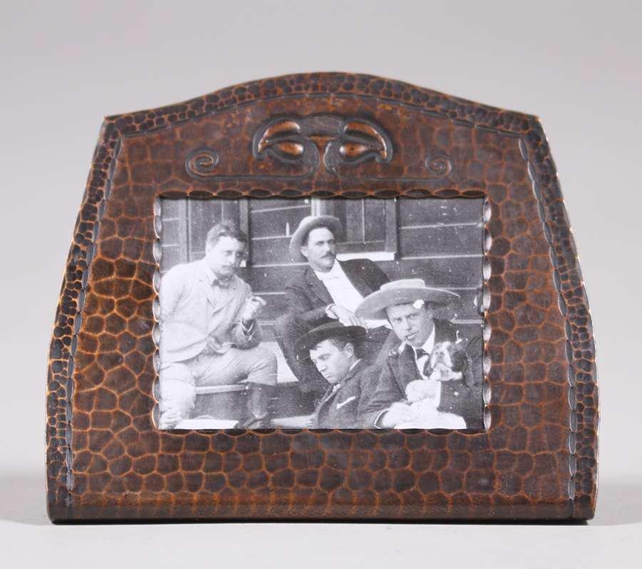 Roycroft Hammered Copper Frame