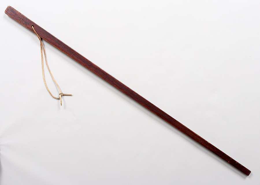 Roycroft Oak Walking Stick