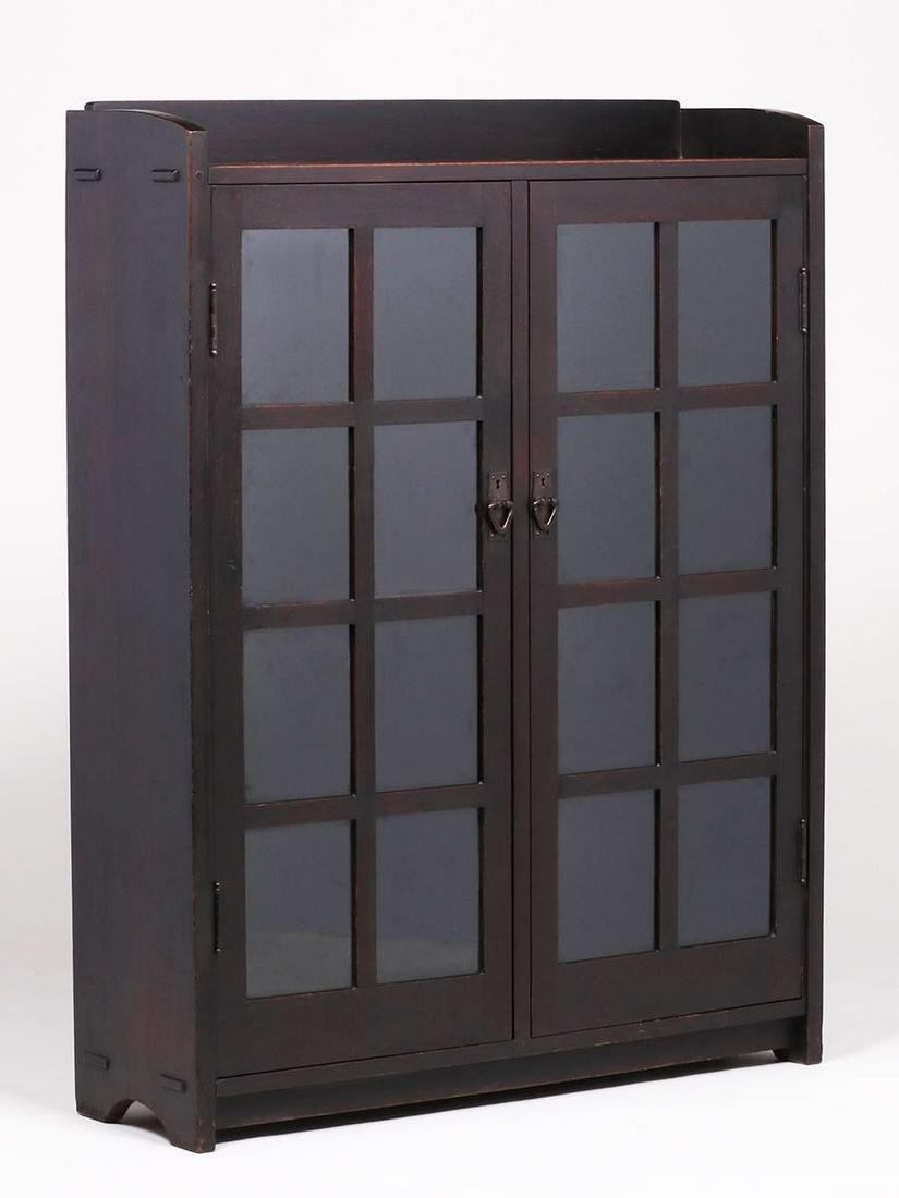 Gustav Stickley #716 Two-Door Bookcase c1904