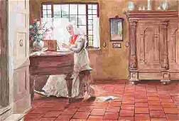 Thomas Raphael Congdon Watercolor