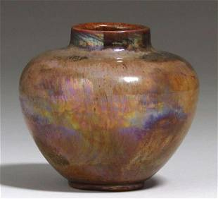 Brouwer - Middle Lane Pottery Flame Painted Vase