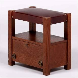 Lakeside Crafts Shop Footstool c1910
