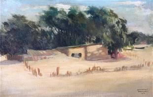 Stephen Voorhies Nassau County Painting Barren Island