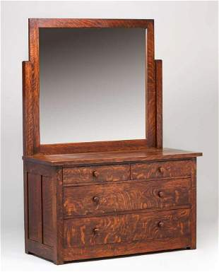 273 Roycroft Dresser With Mirror May 28 2011 Forsythes Auctions Llc In Oh