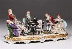 """Sitzendorf Thuringen """"Mozart"""" Piano Recital Porcelain"""