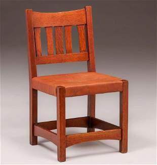 Early Gustav Stickley Side Chair c1901
