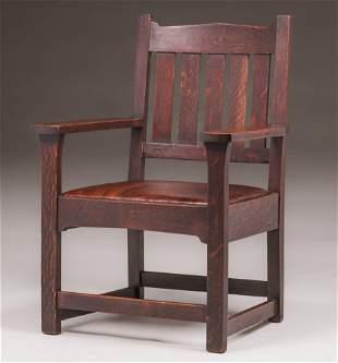Tobey - Onondaga Furniture Armchair c1902