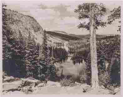 Stephen Willard Photo #994 Eastern Sierra Lake c1950