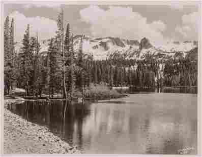 Stephen Willard Photo #3007 Eastern Sierra Lake c1950