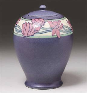 Rookwood Pottery Sallie Coyne Covered Vellum Vase 1920