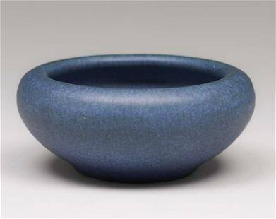 Rookwood Pottery Matte Blue Bowl 1907