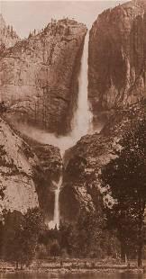 Antique Yosemite Falls Photograph c1910