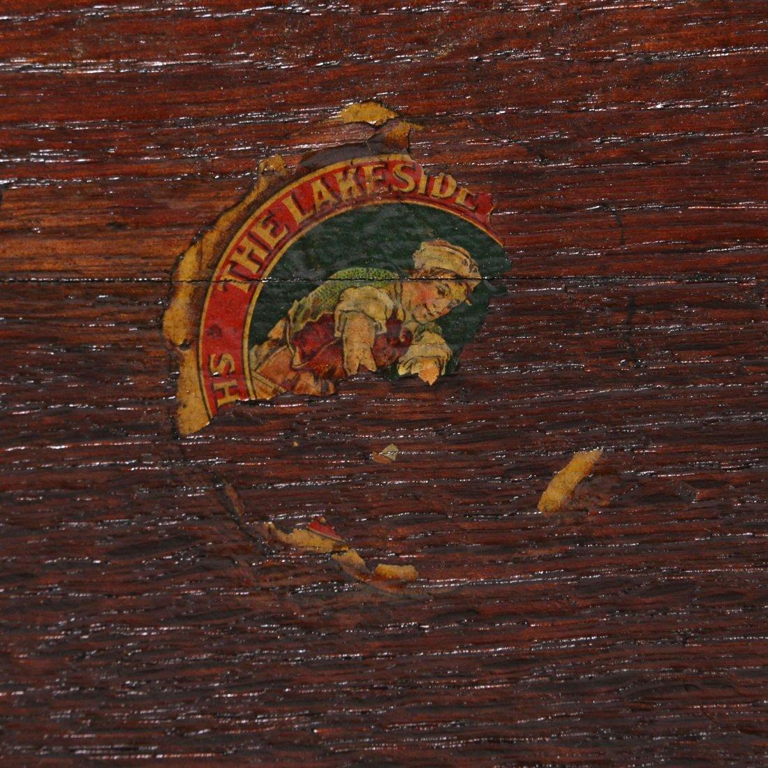 Lakeside Crafts Shop Square Bookshelf - 3