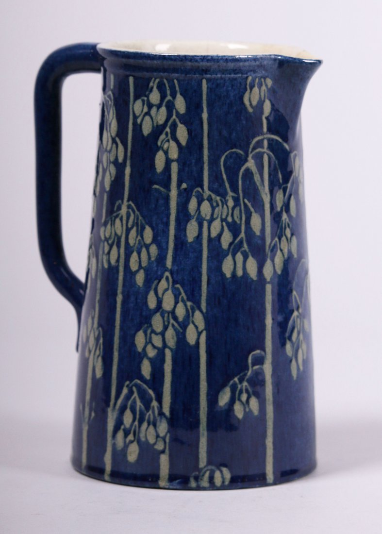 Newcomb College High Glaze Pitcher
