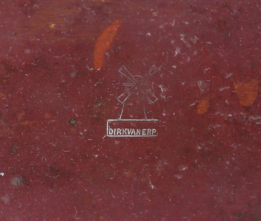 Dirk van Erp Hammered Copper Hanging Planter Bowl - 6