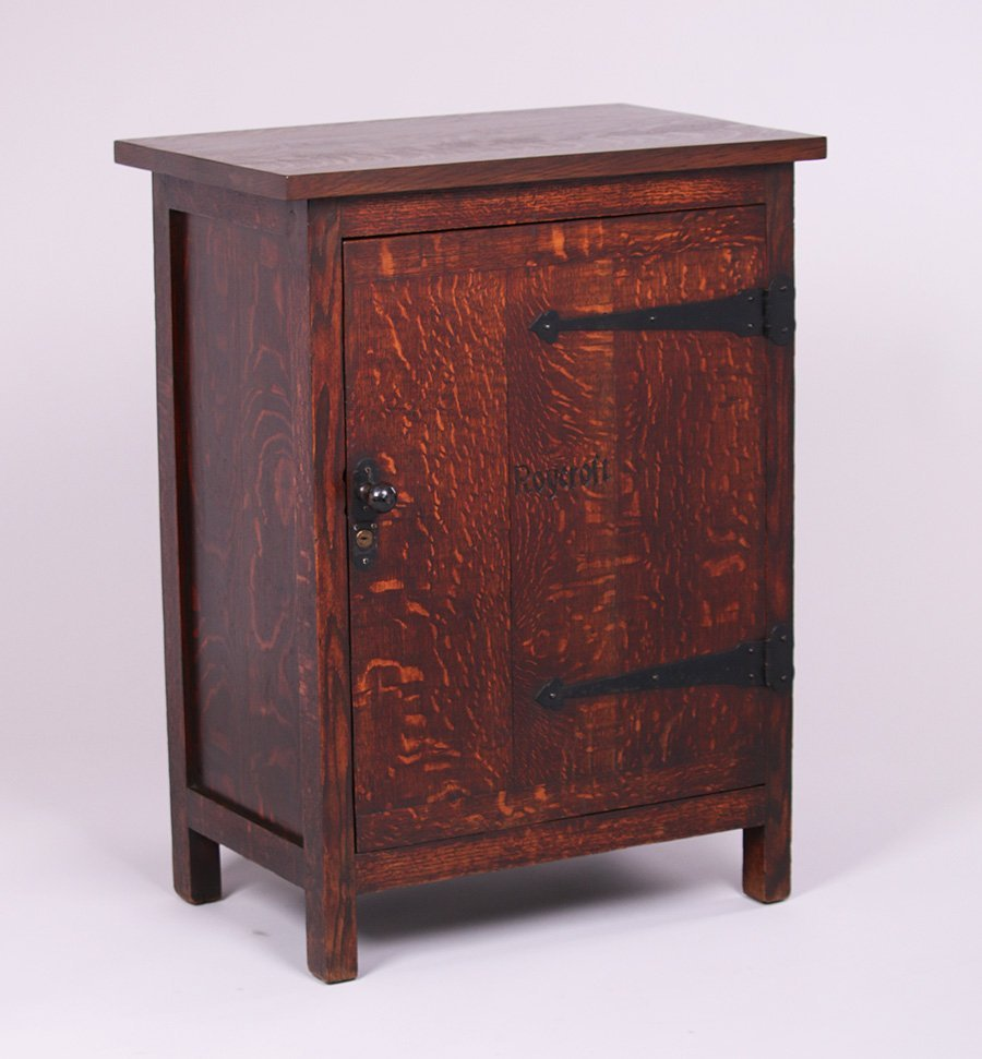 Roycroft One-Door Cabinet