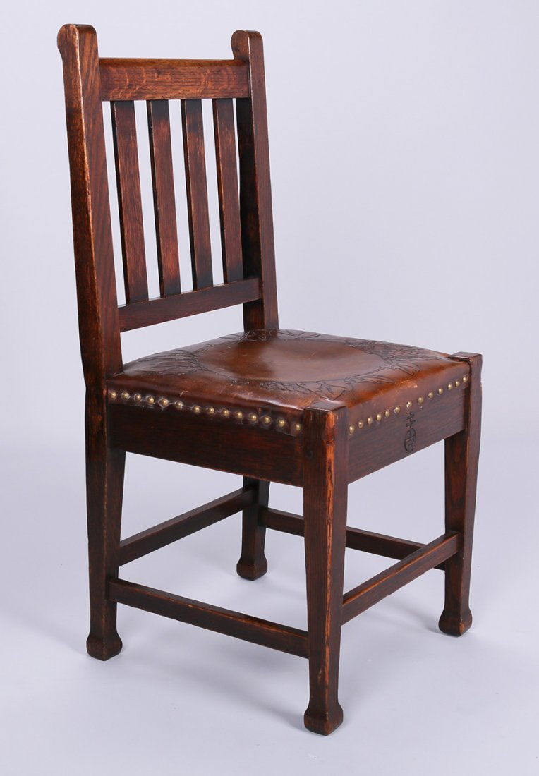 Side Chair with MacMurdo Feet