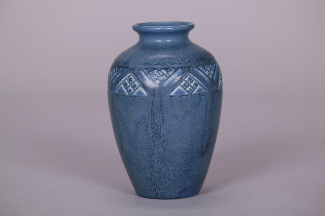 Rookwood Matte Blue Vase c1919