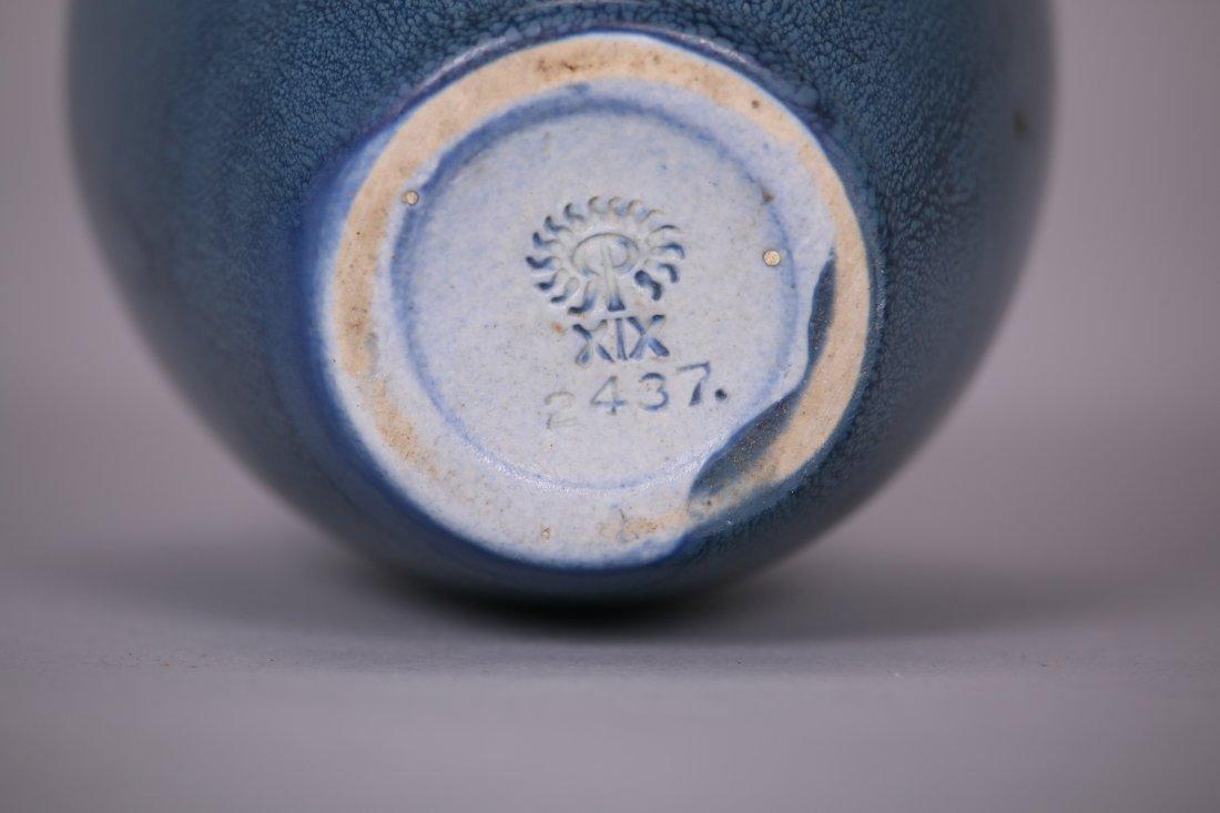 Rookwood Matte Blue Vase c1919 - 4