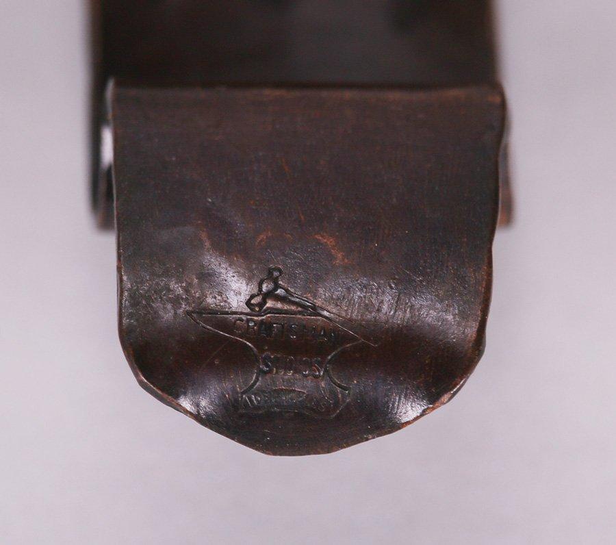 Craftsman Studios Hammered Copper 5-Piece Desk Set - 3