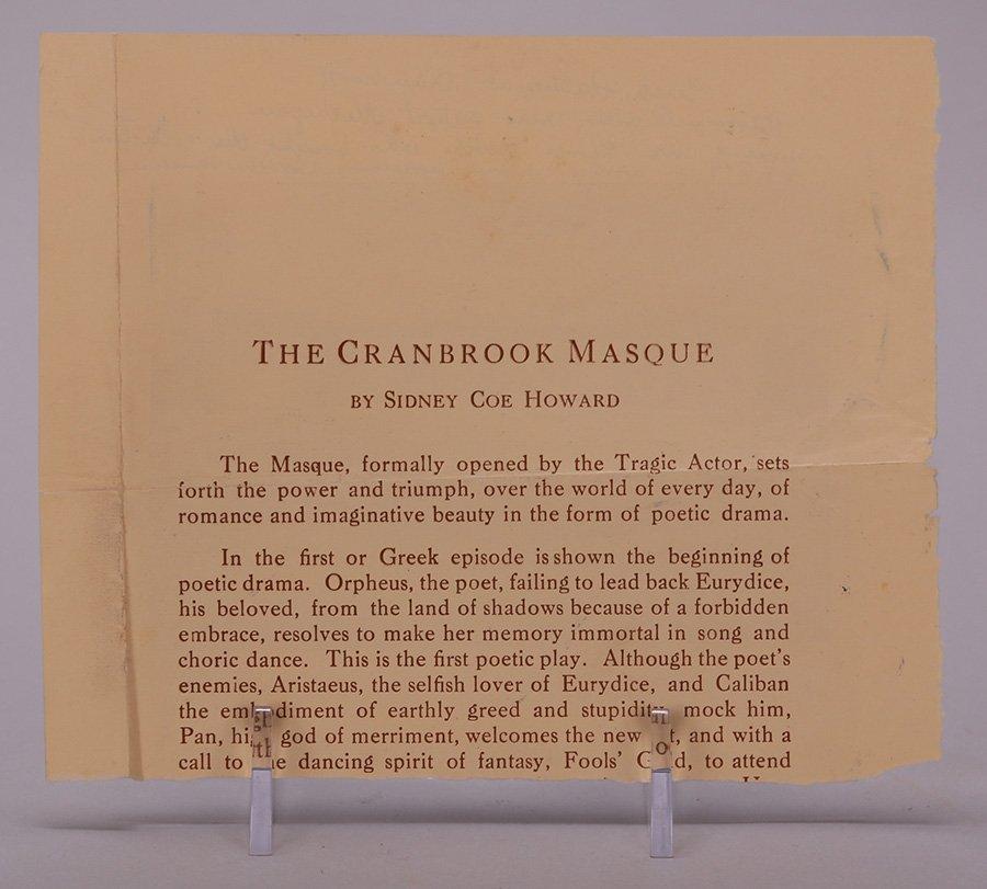 Vintage Print of Cranbrook Museum - 3