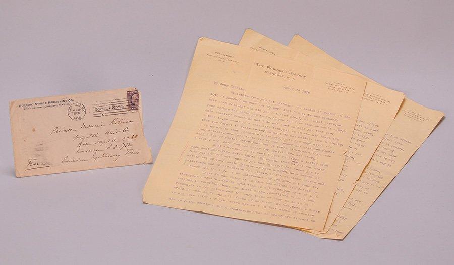 Sameul Robineau Letters