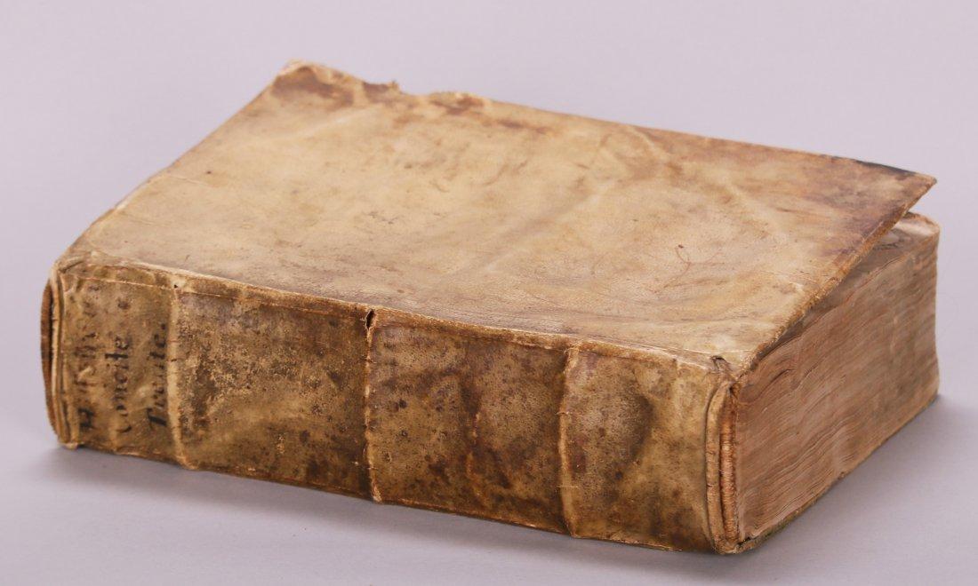 Antique Book from 1635 History of the Council of Trent
