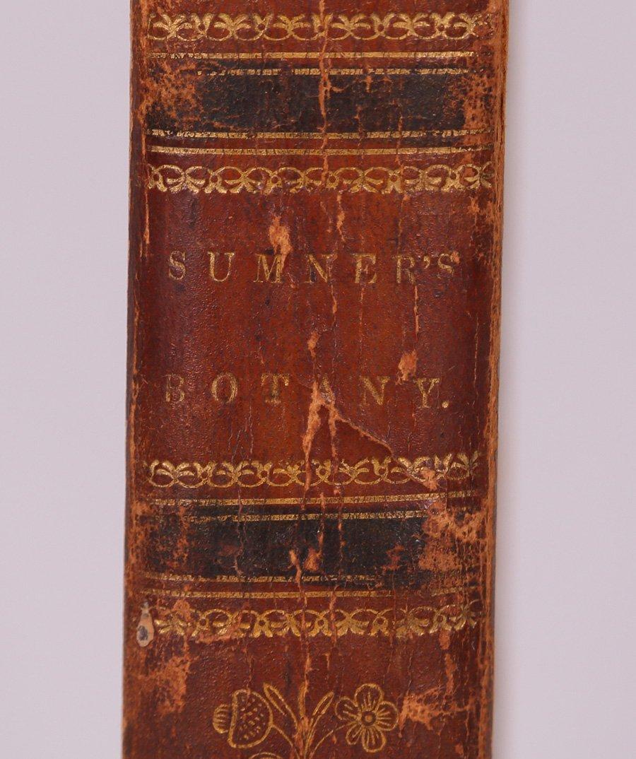 Antique Book: Botany by George Sumner 1820 - 2