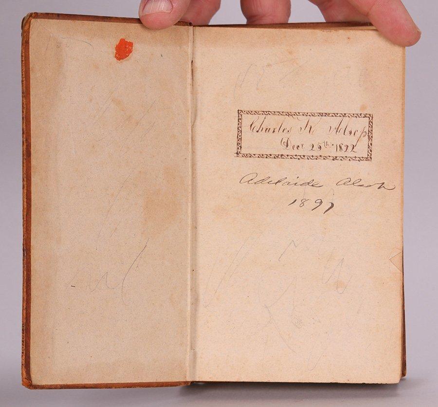 Antique Book: Botany by George Sumner 1820 - 3