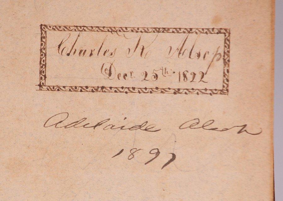 Antique Book: Botany by George Sumner 1820 - 4