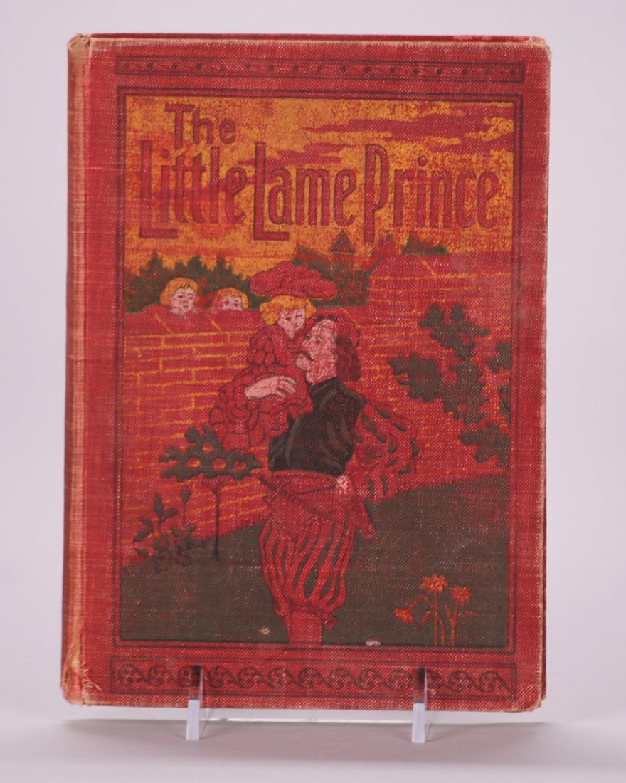 Antique Book: The Little Lame Prince